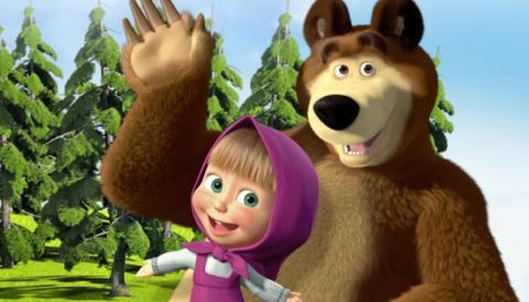 Маша и Медведь Все серии.